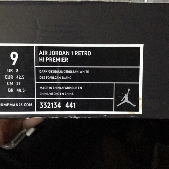 e15d188d1c2 Air Jordan 1 retro Hi Premier